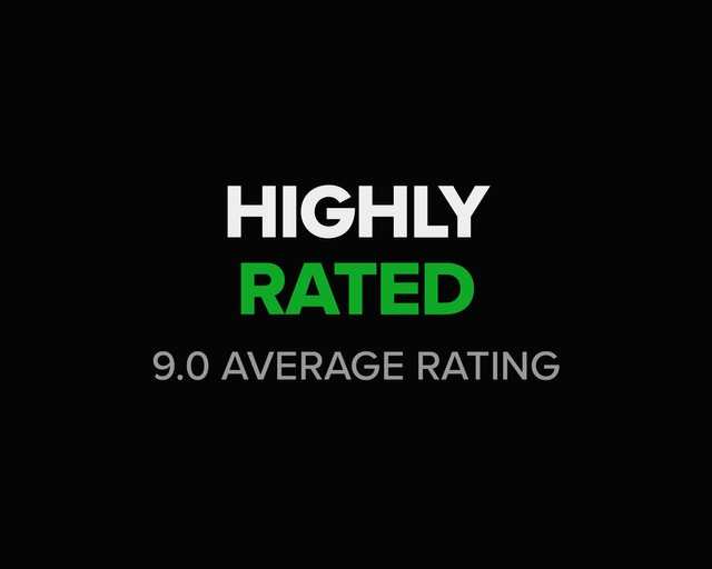 Highly rated